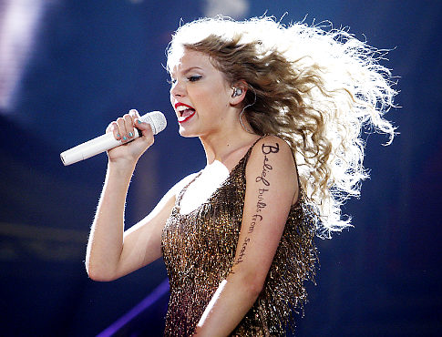 Taylor Swift performs at the Prudential Center in Newark, NJ on Tuesday July 19, 2011. Original Filename: Denver10.jpg