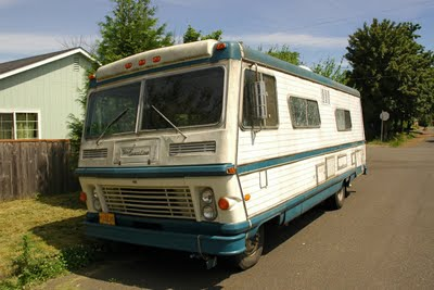 That there's an RV – An Epic Quest to Find a Suitable 'Band Van'